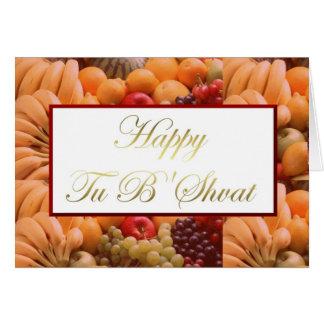 Día de fiesta judío del bishvat feliz del Tu Tarjeta De Felicitación