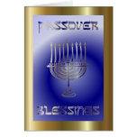 Día de fiesta judío del Passover de Pesach Felicitaciones