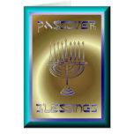 Día de fiesta judío del Passover de Pesach Felicitacion