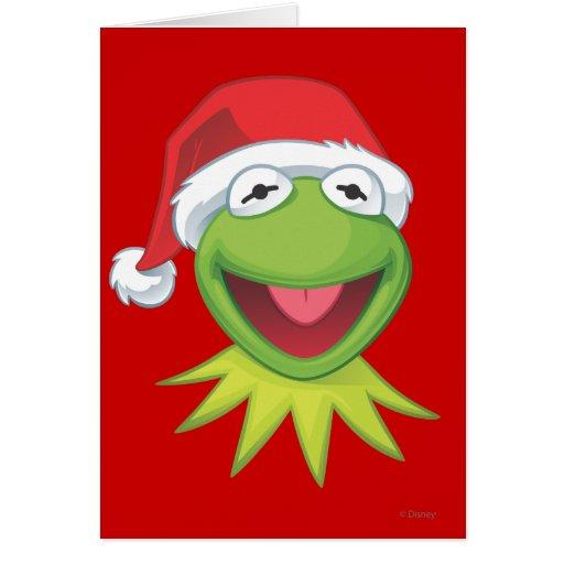 Día de fiesta Kermit 2 Felicitacion