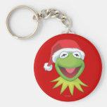 Día de fiesta Kermit 2 Llavero