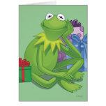 Día de fiesta Kermit 3 Felicitación