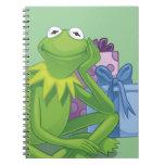 Día de fiesta Kermit 3 Libros De Apuntes