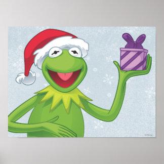 Día de fiesta Kermit Póster