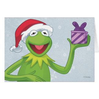 Día de fiesta Kermit Tarjeton