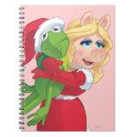 Día de fiesta Kermit y Srta. Piggy Cuadernos
