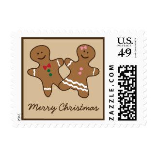 Día de fiesta lindo del navidad de los pares del sellos