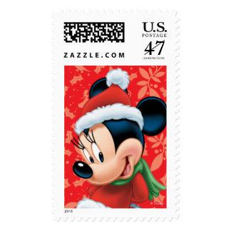 Día de fiesta Minnie Timbre Postal