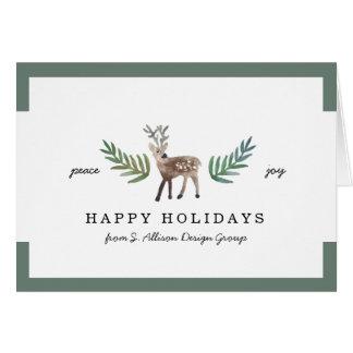 Día de fiesta querido corporativo amado tarjeta de felicitación