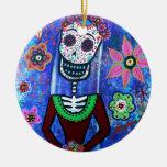 Día de Frida Brida de los muertos Adornos