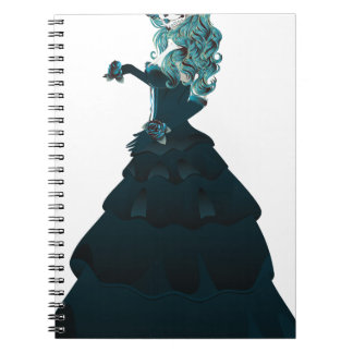Día de Girl5 muerto Note Book