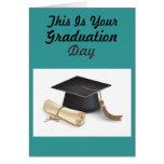 Día de graduación felicitacion