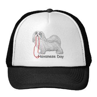 Día de Havanese Gorras De Camionero