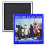 día de inauguración 2009 imán para frigorifico