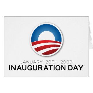Día de inauguración tarjeta de felicitación