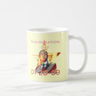 Día de inauguración taza de café