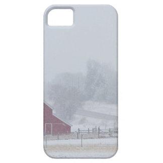 Día de invierno del país Nevado iPhone 5 Fundas