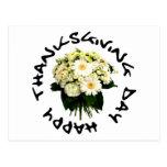 ¡Día de la acción de gracias! ¡Diseño original! Postal