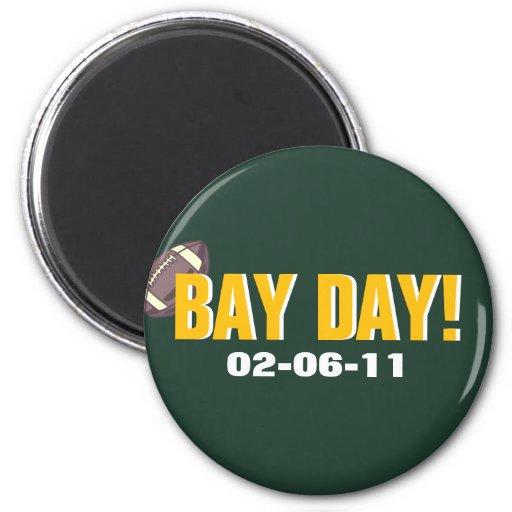 ¡DÍA DE LA BAHÍA! - Fútbol del Green Bay Imán