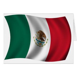 Día de la Bandera (día de la bandera mexicano) Felicitacion