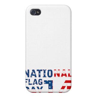 Día de la bandera nacional iPhone 4 fundas