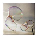Día de la burbuja tejas  cerámicas