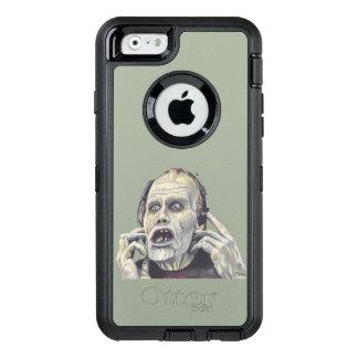 Día de la caja muerta del teléfono del zombi funda OtterBox defender para iPhone 6