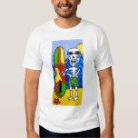 Día de la camiseta muerta de la persona que playera