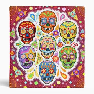 Día de la carpeta del arte de los cráneos del azúc