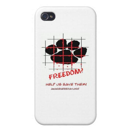 Día de la conciencia del molino del perrito iPhone 4/4S fundas