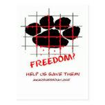 Día de la conciencia del molino del perrito postales