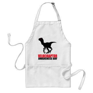 Día de la conciencia del Velociraptor Delantal