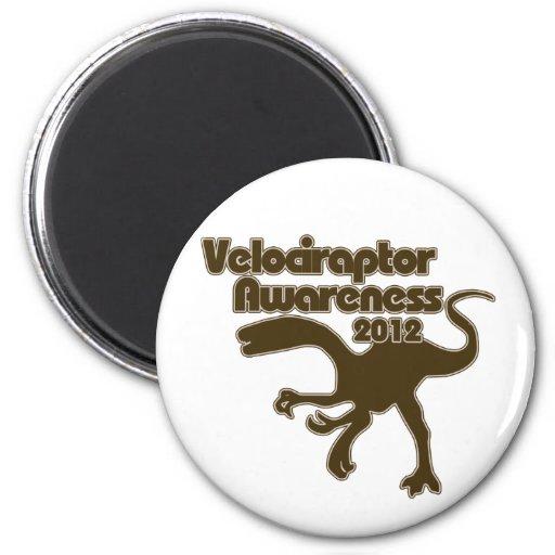 Día de la conciencia del Velociraptor Imán Para Frigorífico