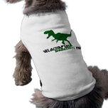 Día de la conciencia del Velociraptor Camisetas De Perrito