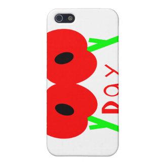 Día de la conmemoración, día de armisticio o día d iPhone 5 carcasa