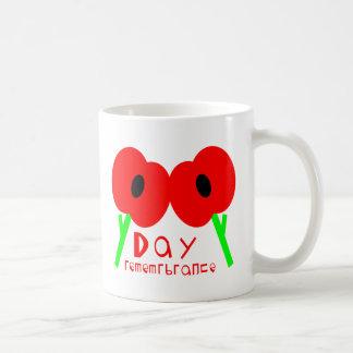 Día de la conmemoración día de armisticio o día d tazas