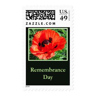 Día de la conmemoración - franqueo