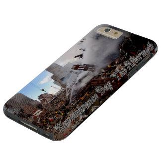 Día de la conmemoración - las consecuencias - 9-11 funda para iPhone 6 plus tough