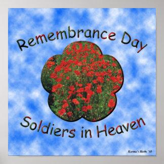 Día de la conmemoración posters