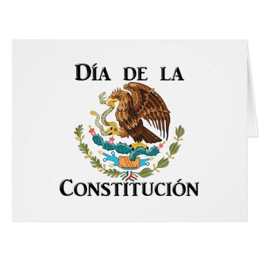 D 237 a de la constituci 243 n mexico large greeting card zazzle