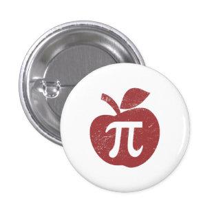 Día de la empanada de Apple pi Pin Redondo De 1 Pulgada