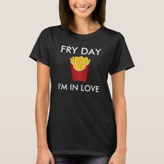 Día de la fritada estoy en camiseta del amor