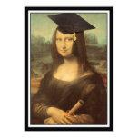 Día de la graduación de Mona Lisa Invitacion Personal
