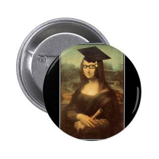 Día de la graduación de Mona Lisa Pin