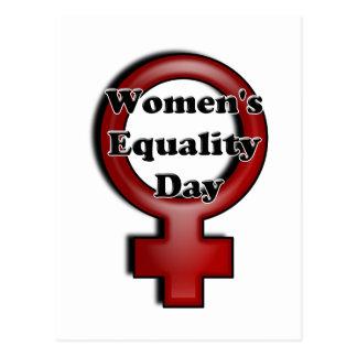 Día de la igualdad de las mujeres postales