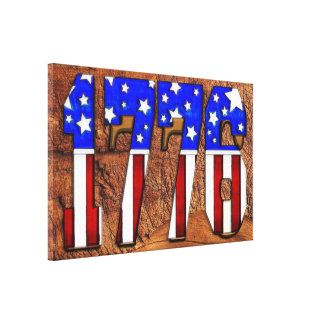 Día de la Independencia 1776 de los E E U U Impresiones En Lona