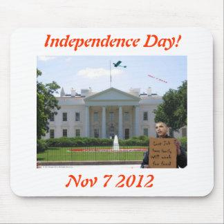 Día de la Independencia - 2012 Alfombrillas De Ratón