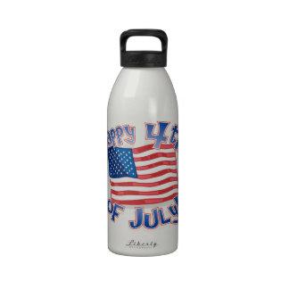 Día de la Independencia 4 de julio Botallas De Agua