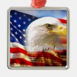 Día de la Independencia 4 de julio Adornos De Navidad