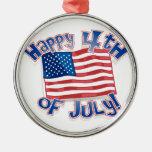 Día de la Independencia 4 de julio Ornamentos De Reyes